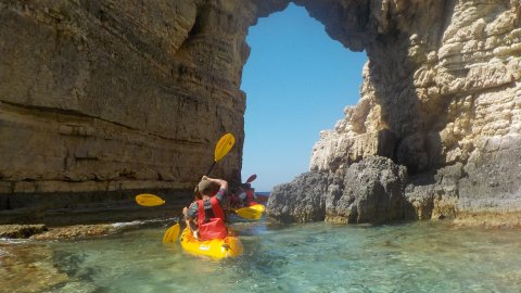 Sea Kayaking Day Tour in Paxos