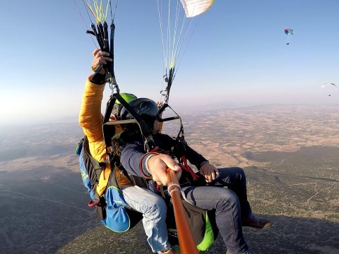 paragliding Greece athens flights