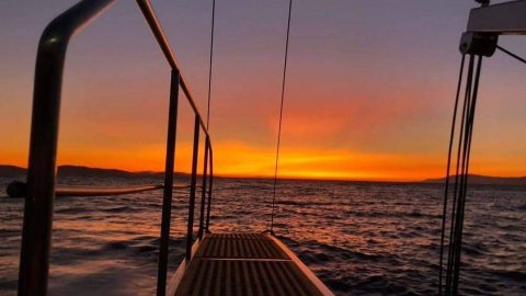Sunset Sailing Mykonos  South Coast & Delos