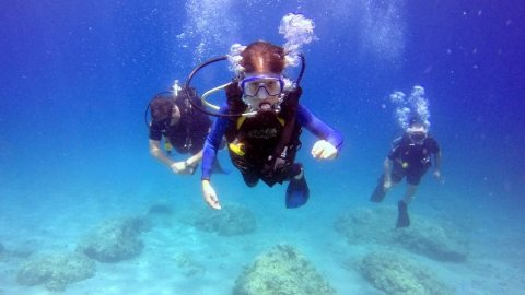 Discover Scuba Diving Rhodes near Lindos
