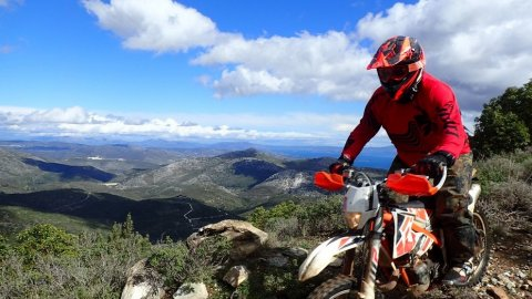 1 Day Motorcycle Enduro Tour Athens