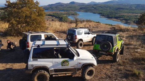 Offroad Jeep Safari Tour, road of wine near Athens