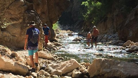 River Trekking in Neda