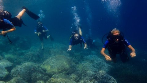 Try Scuba Diving Toroni Chalkidiki
