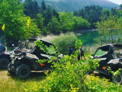 Buggy Tour Tsivlou Lake