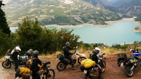 Greece Crosser by motorcycles 11 Days
