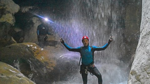 Canyoning & Camping in Deos, Metsovo