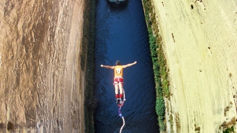 Bungy Jumping Canal of Corinth